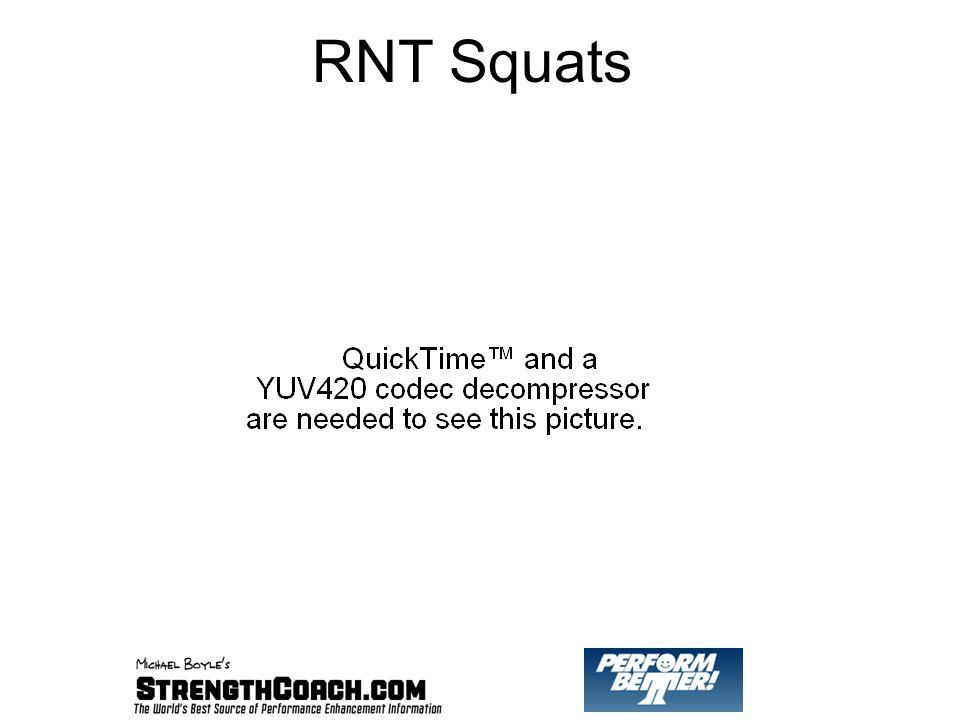 RNT Squats