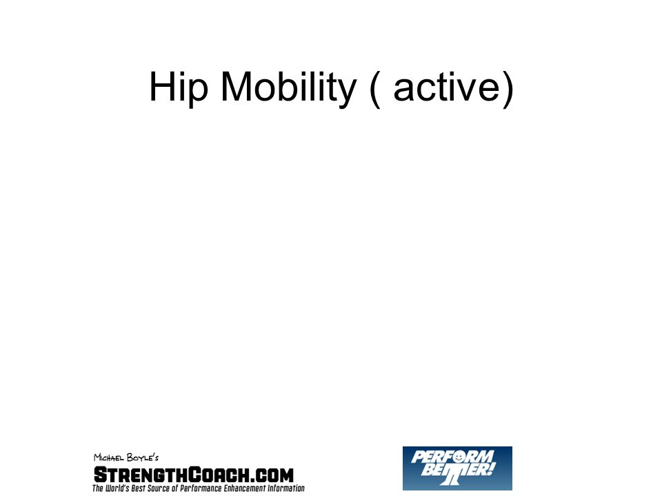 Hip Mobility ( active)