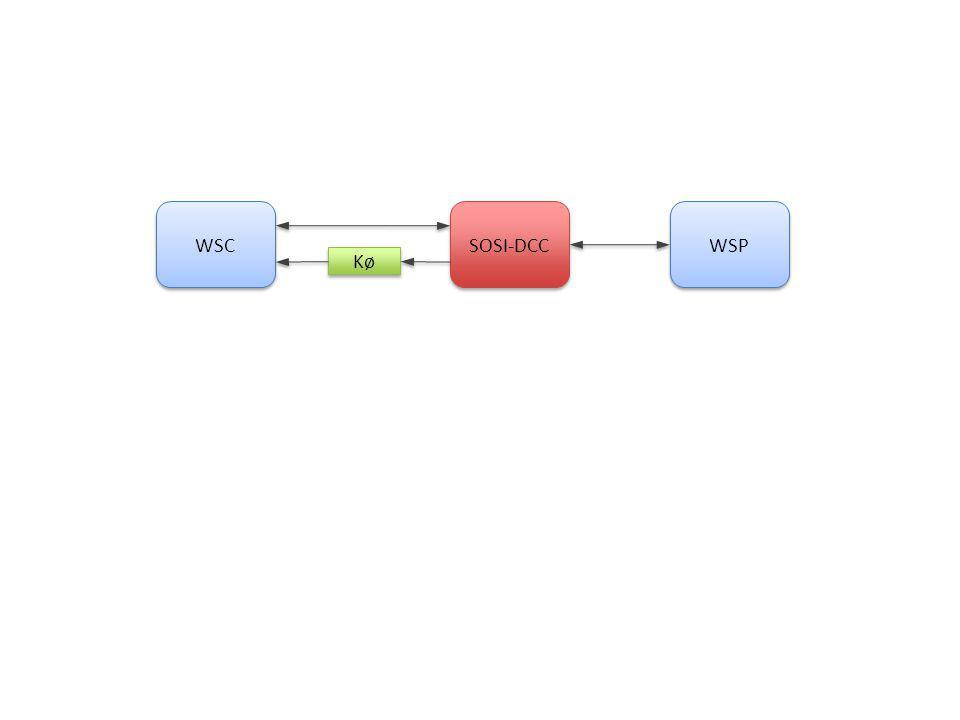 SOSI-DCC WSP WSC Kø