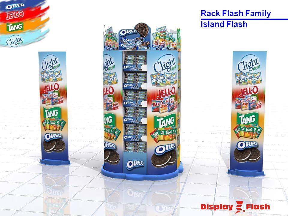 Island Flash Rack Flash Family