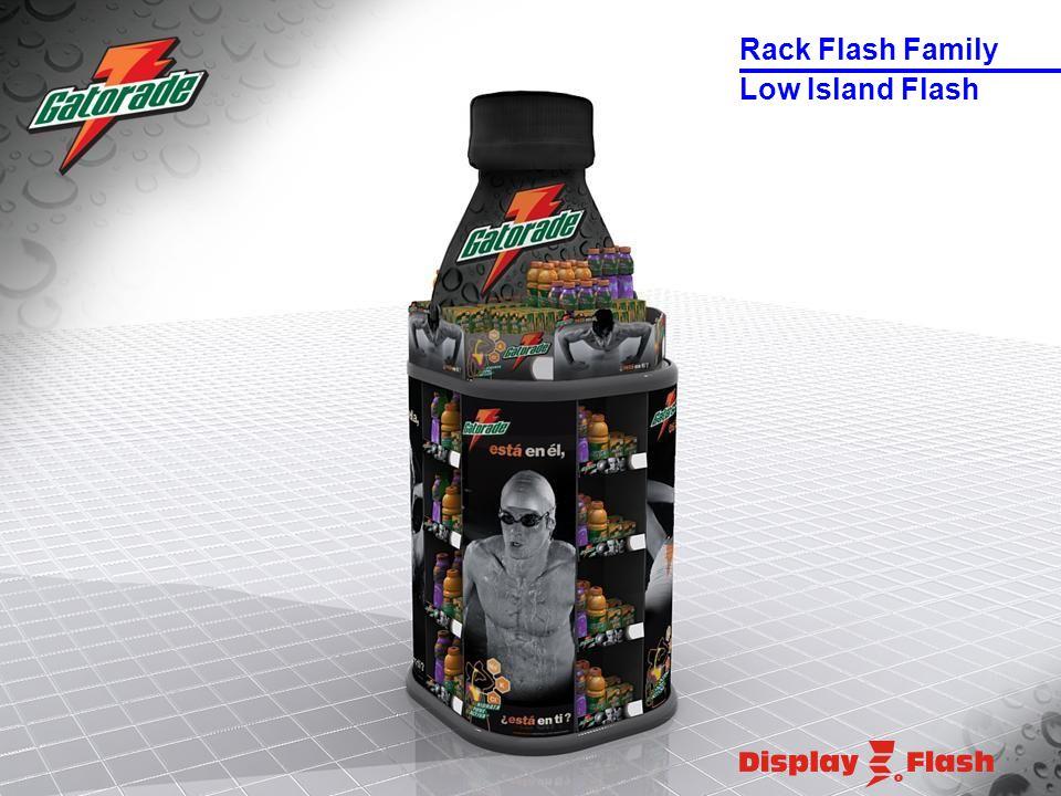 Low Island Flash Rack Flash Family