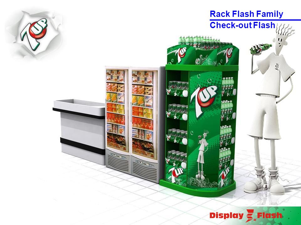 Check-out Flash Rack Flash Family