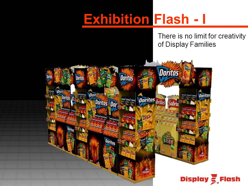 Exhibition Flash - I There is no limit for creativity of Display Families