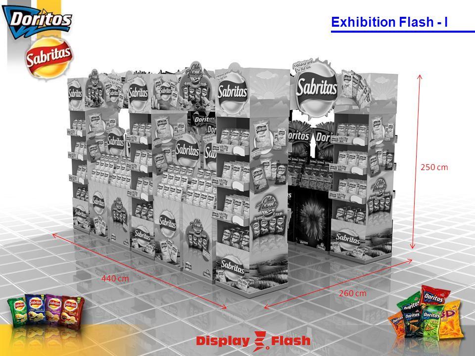 250 cm 260 cm 440 cm Exhibition Flash - I