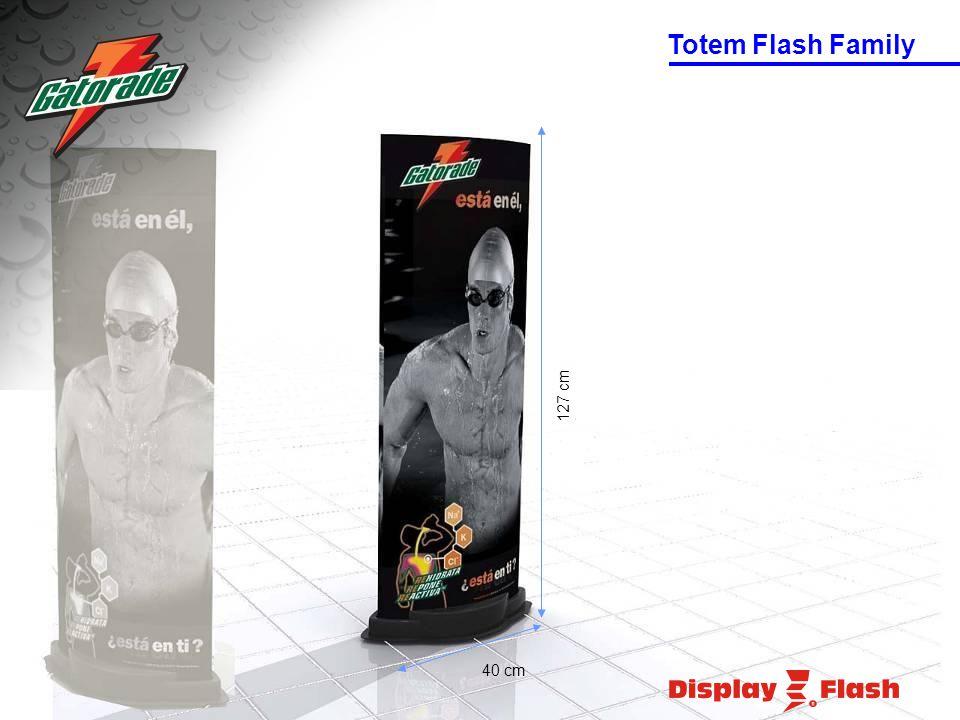 40 cm 127 cm Totem Flash Family