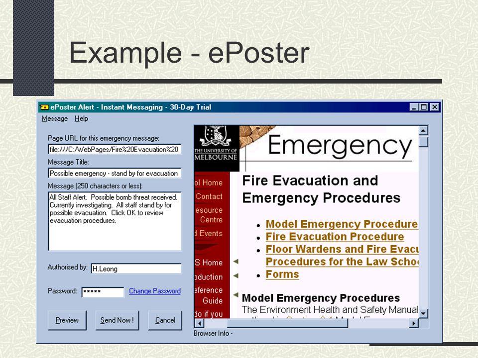 Example - ePoster
