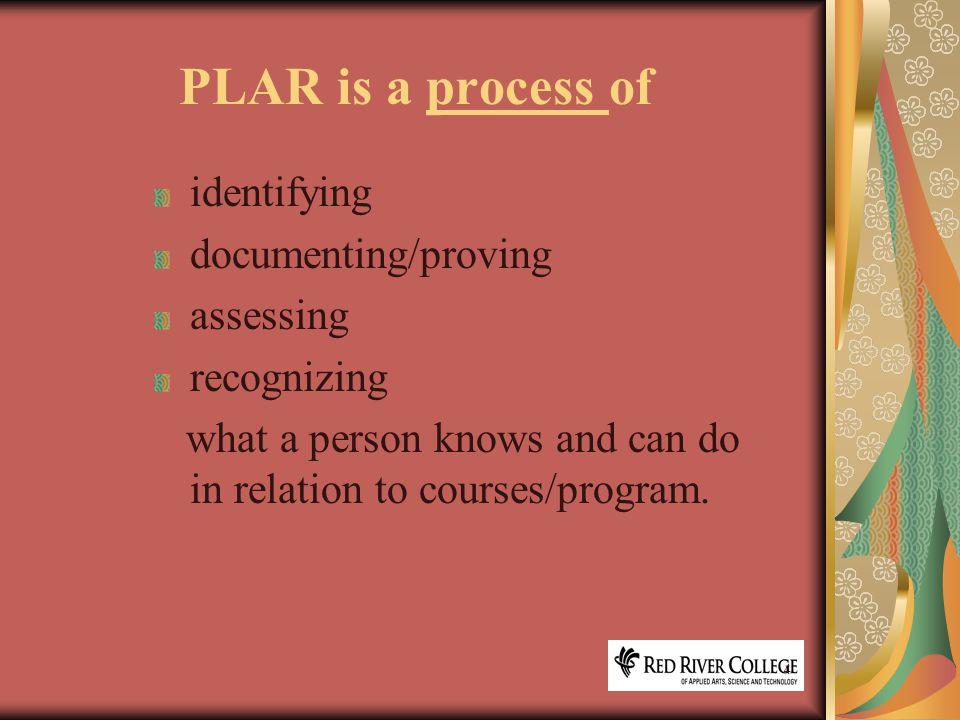 15 PLAR Tools and Resources http://air.rrc.mb.ca