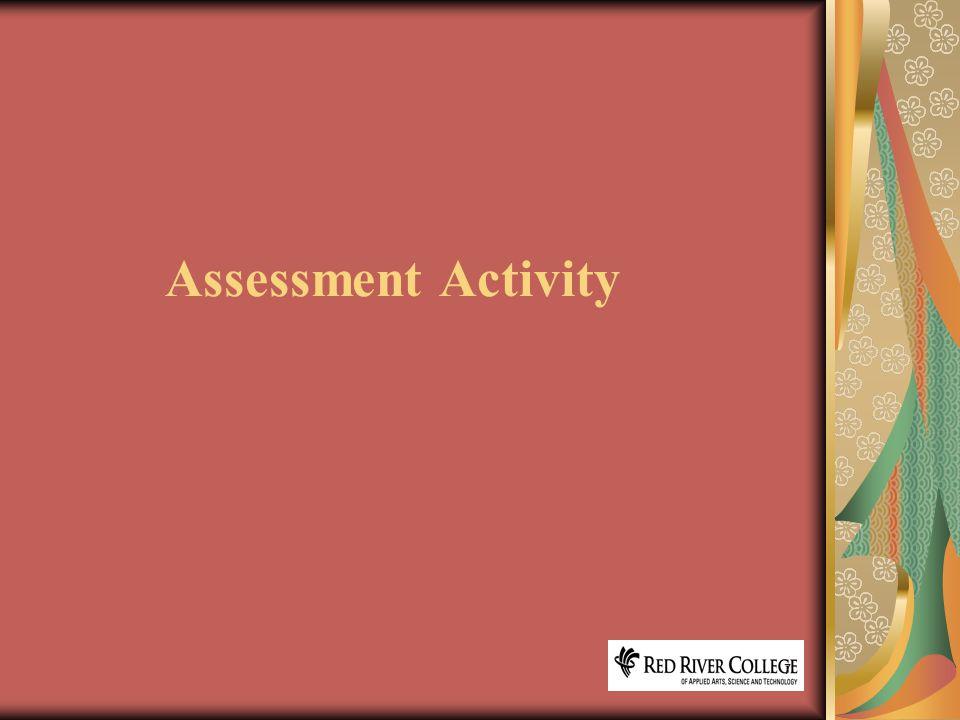 7 Assessment Activity
