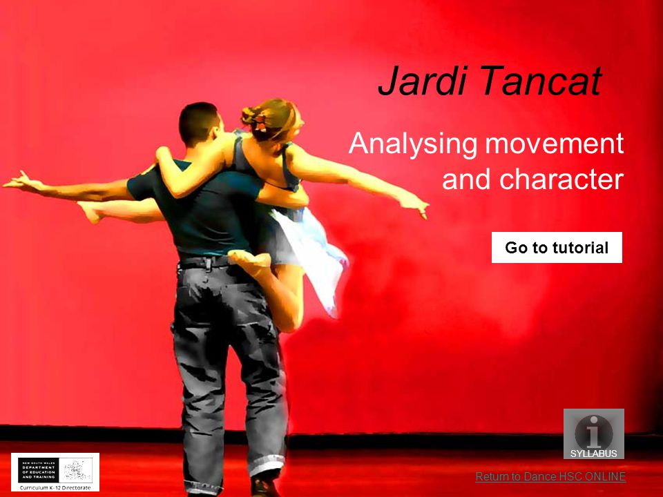 In this tutorial you will investigate how Nacho Duato establishes character through movement.