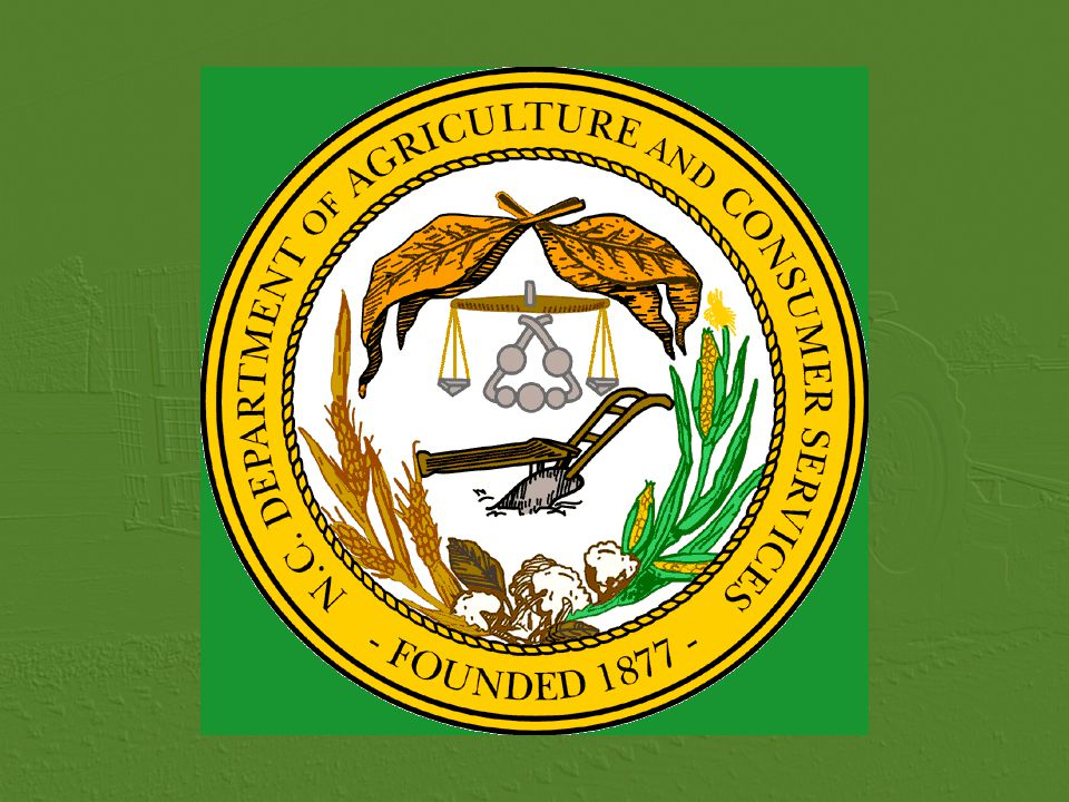 North Carolina Department of Agriculture & Consumer Services Food & Drug Protection Division, Pesticide Section 2003-2005 P RIVATE A PPLICATOR R ECERTIFICATION 2003-2005 Changes to the N.C.