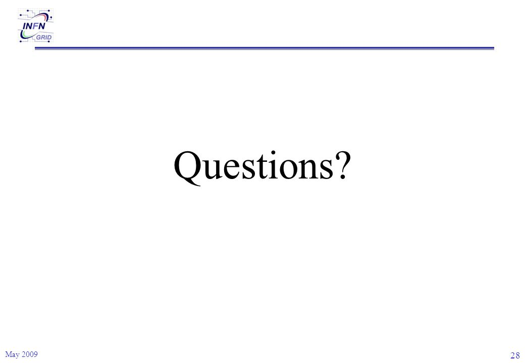Questions May 2009 28