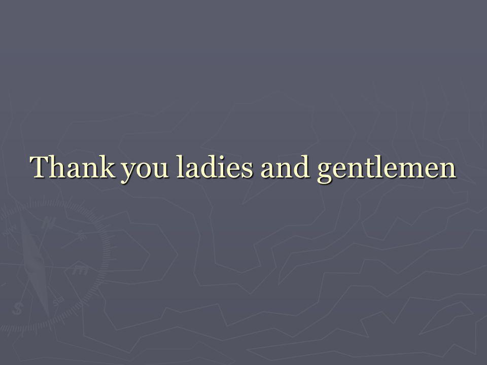 Thank you ladies and gentlemen