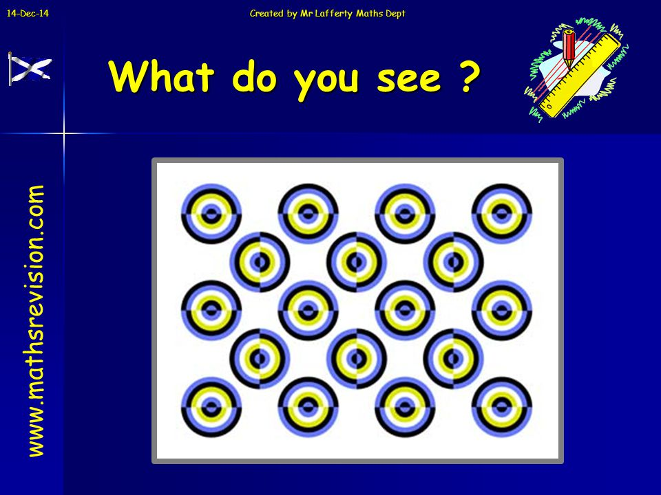 14-Dec-14 Created by Mr Lafferty Maths Dept What do you see www.mathsrevision.com