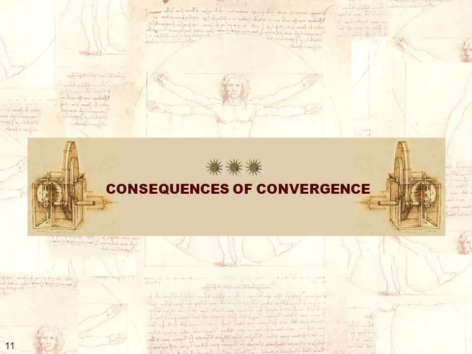 CONSEQUENCES OF CONVERGENCE 11