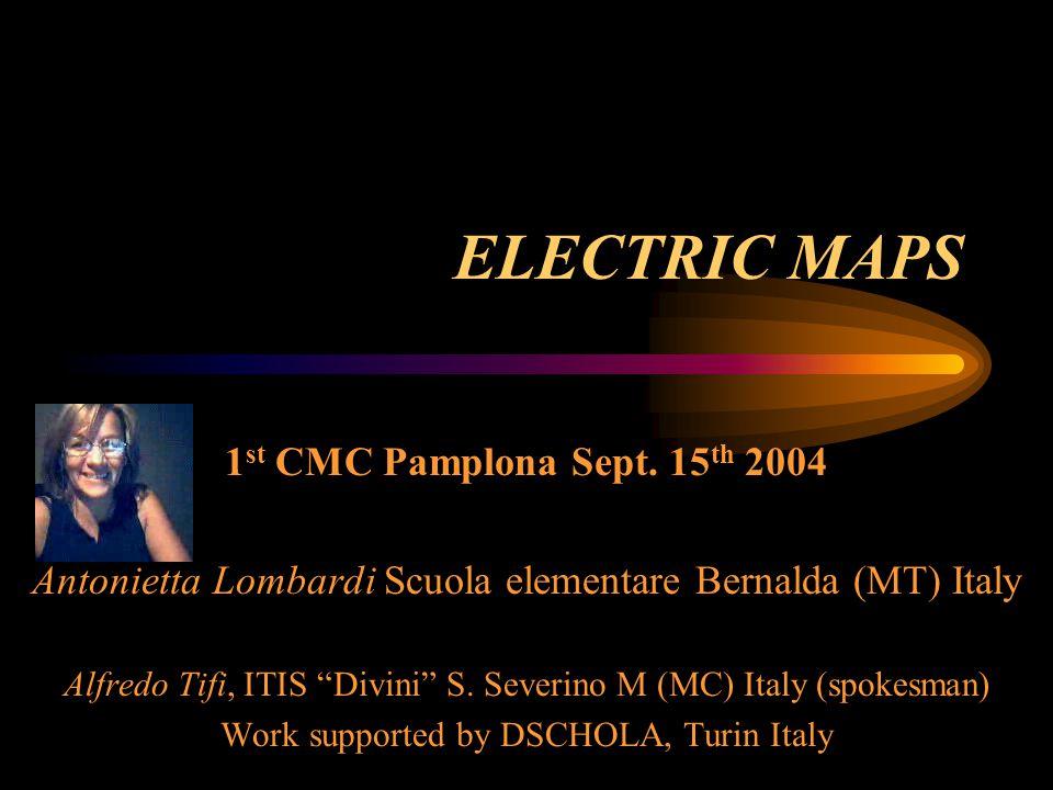 ELECTRIC MAPS 1 st CMC Pamplona Sept.