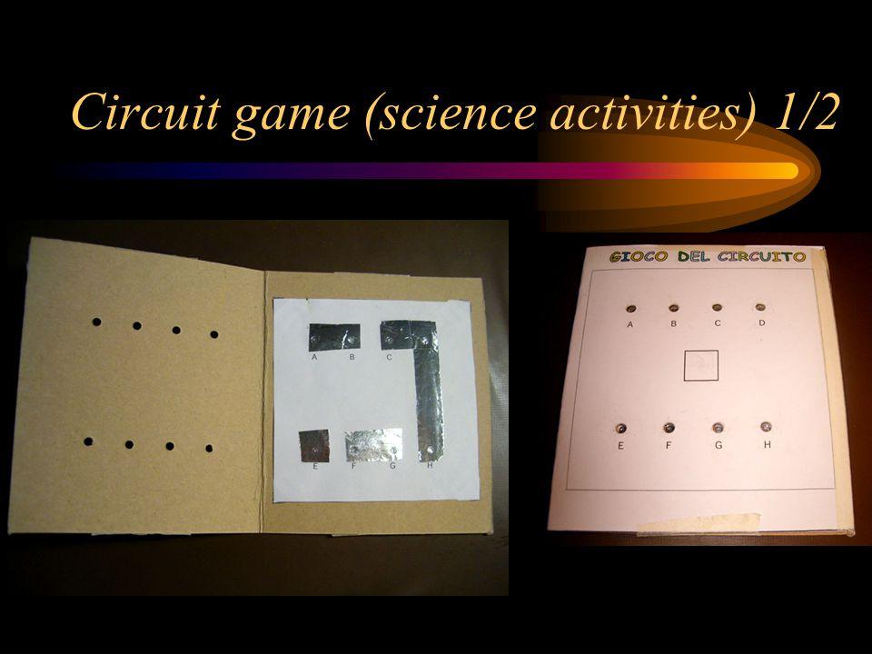Circuit game (science activities) 1/2