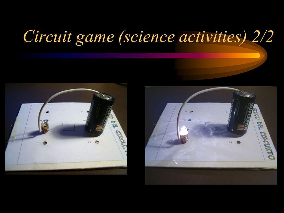 Circuit game (science activities) 2/2