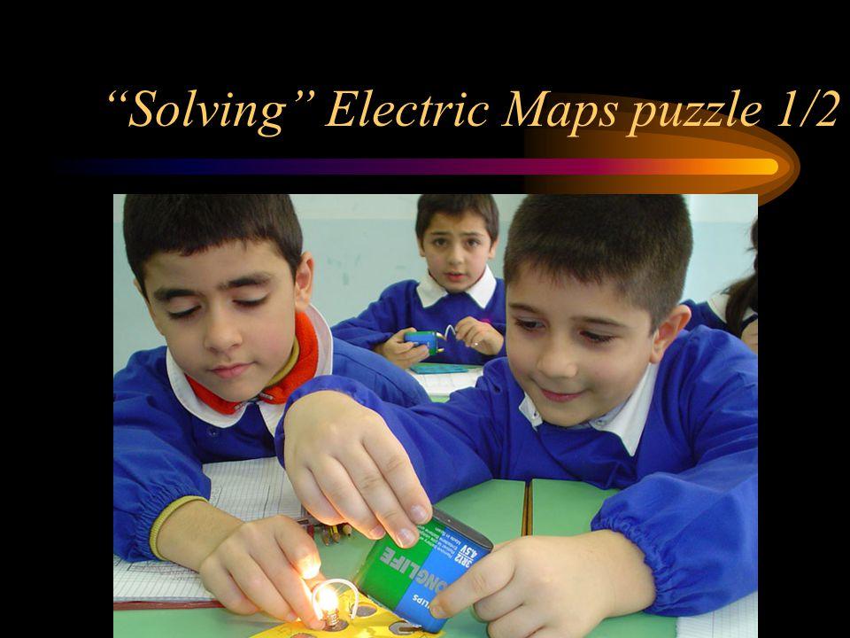 Solving Electric Maps puzzle 1/2