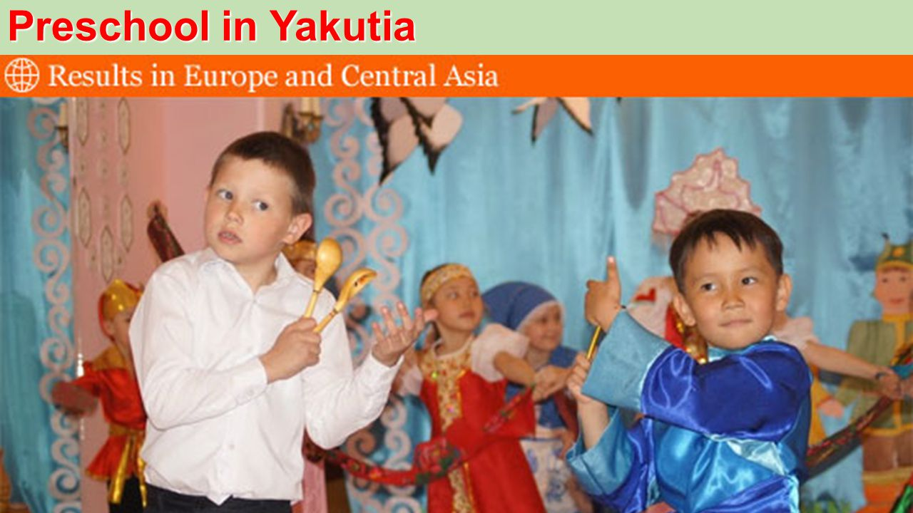 Preschool in Yakutia