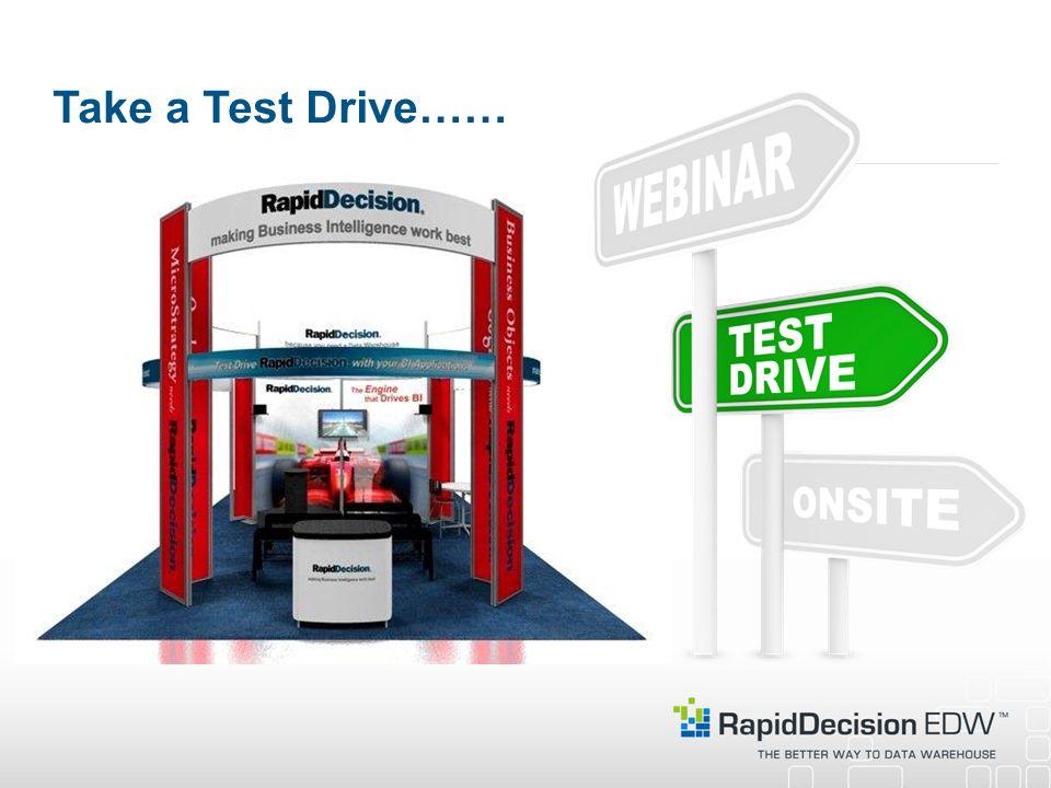 Take a Test Drive……