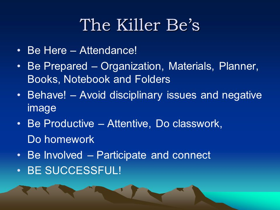 The Killer Be's Be Here – Attendance.
