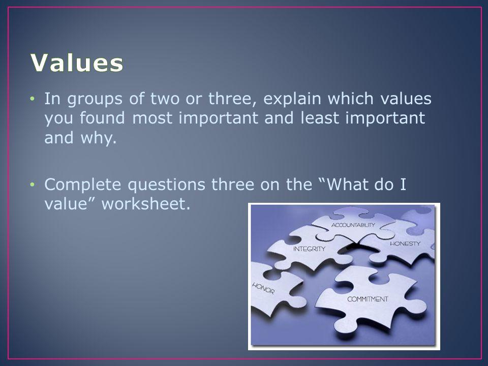 Take a look at the Presentation Success Criteria handout.