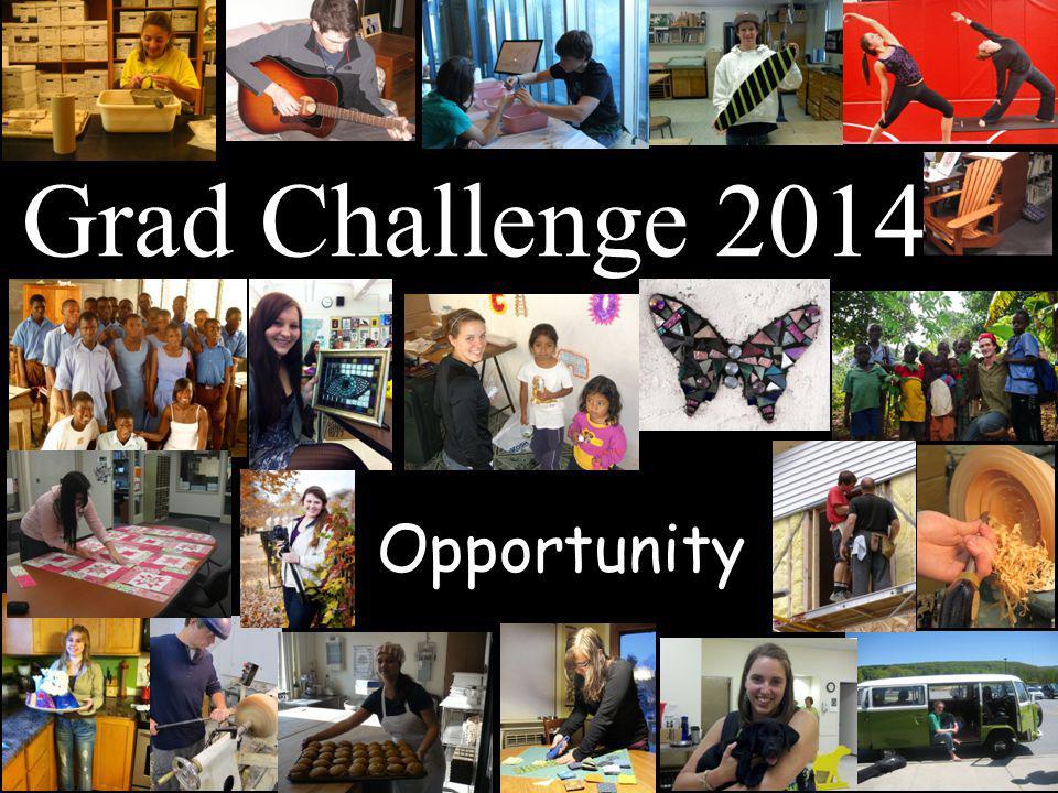 Opportunity Grad Challenge 2014