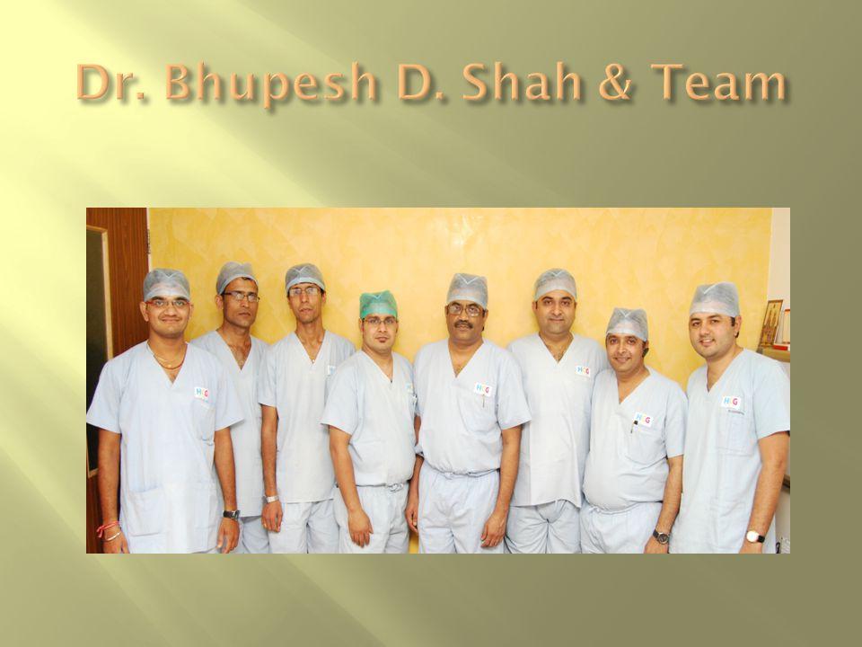  Dr.Bhupesh D. Shah: 9825073465  Dr. Abhishek Parmar: 9724749919  Dr.