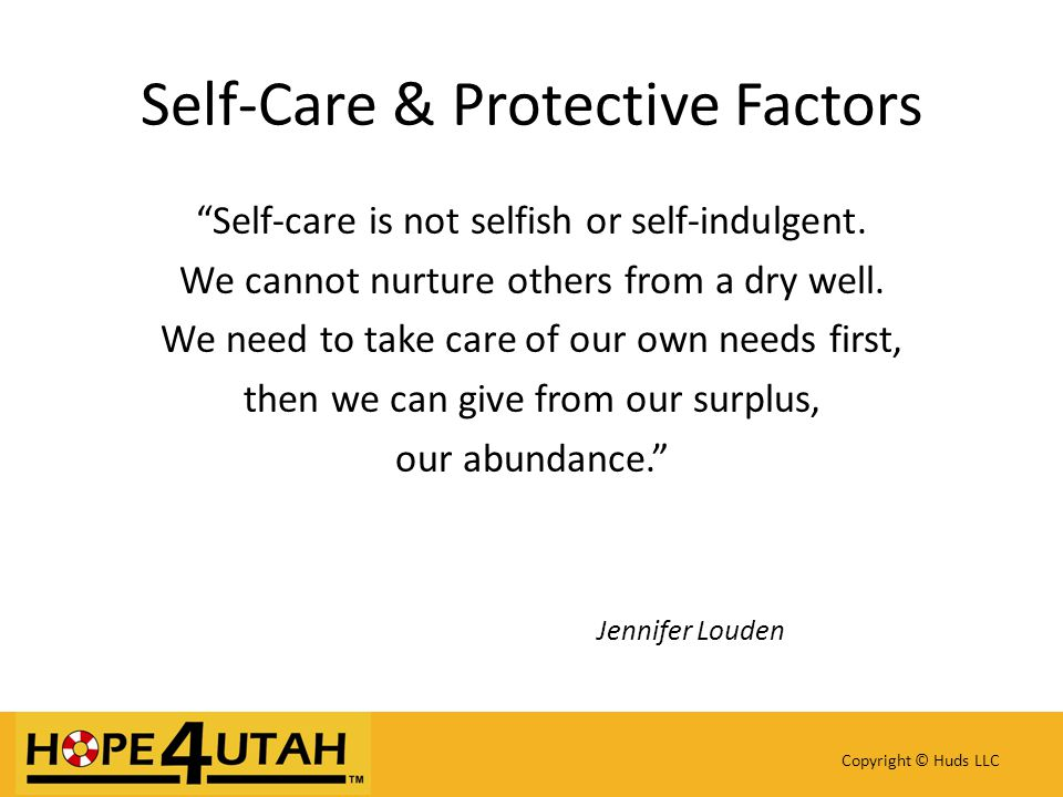 Self-care is not selfish or self-indulgent. We cannot nurture others from a dry well.
