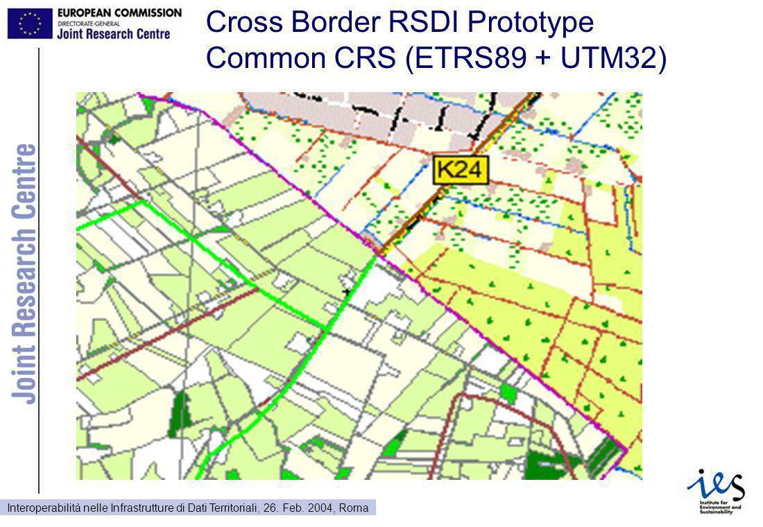 Interoperabilità nelle Infrastrutture di Dati Territoriali, 26.