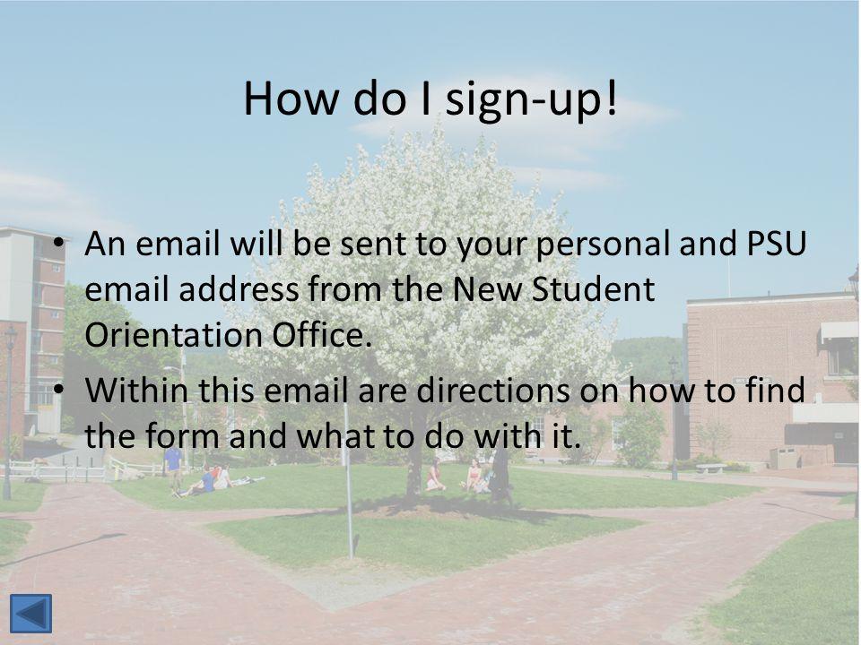 How do I sign-up.
