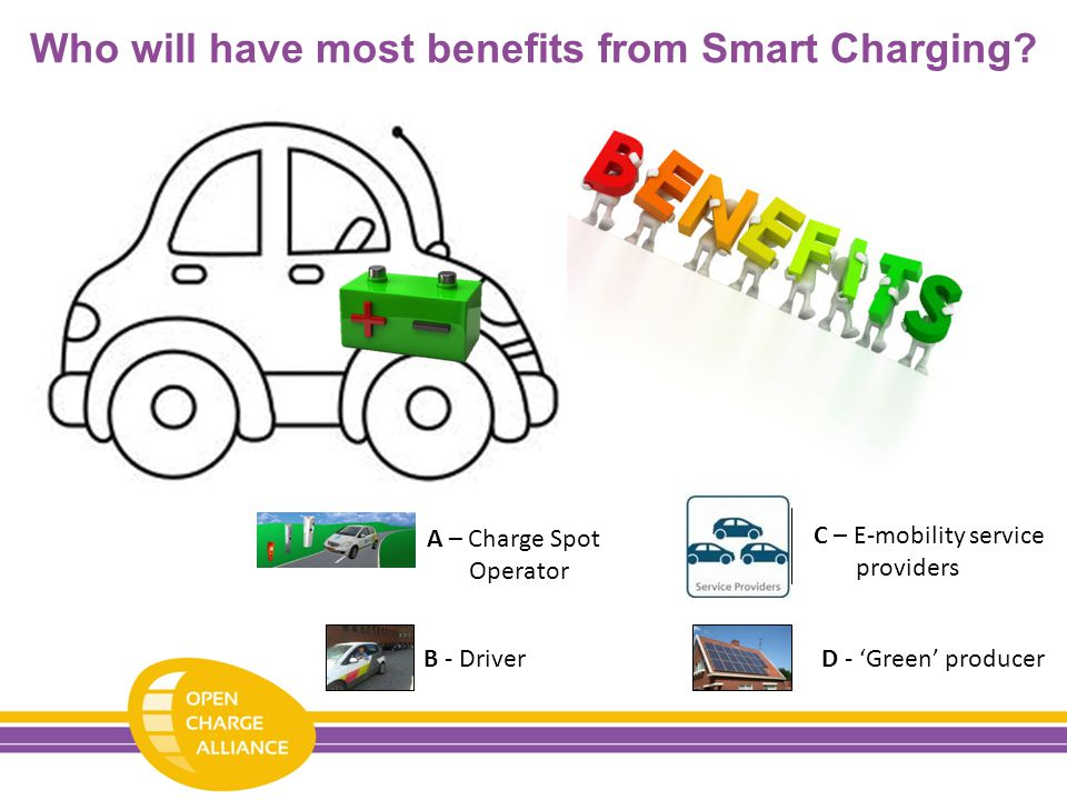 Who will have most benefits from Smart Charging.
