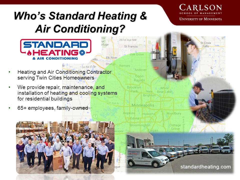 Who's Standard Heating & Air Conditioning.