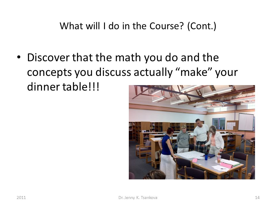 What will I do in the Course.