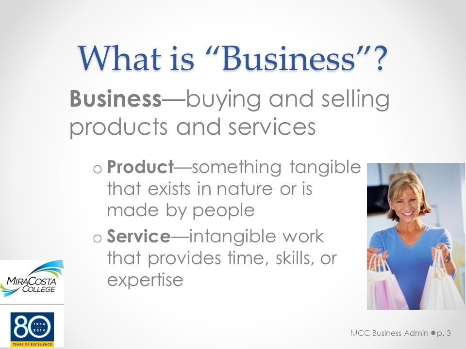 What is Business .