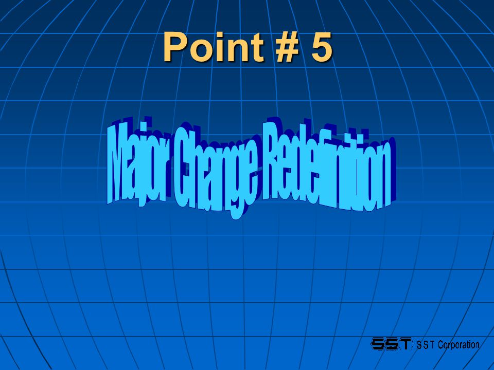 Point # 5