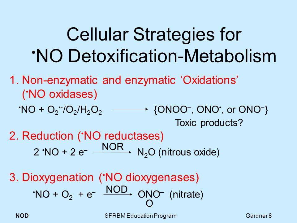 NOD SFRBM Education Program Gardner 8 Cellular Strategies for NO Detoxification-Metabolism 1.