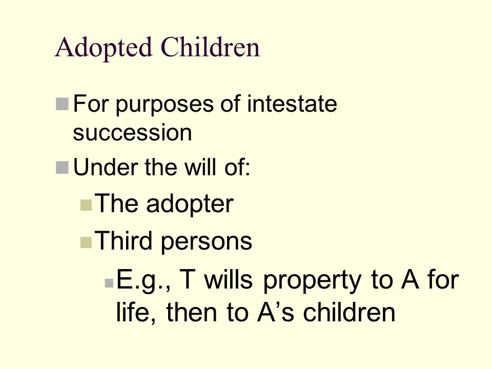 Step-Parent Adoption Exception Dad Grandma Mom Child Dad #2 Adoption