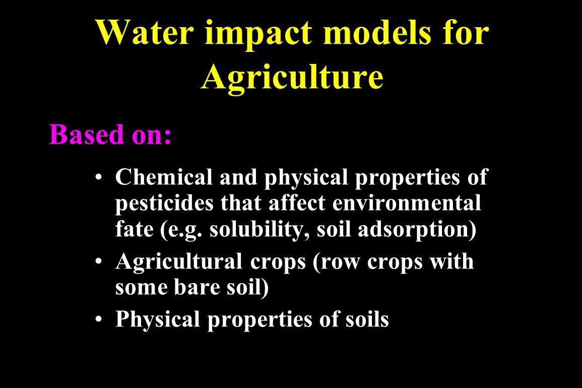 Pesticide selection criteria: the 3 E's Efficacy Economics Environmental & health impact
