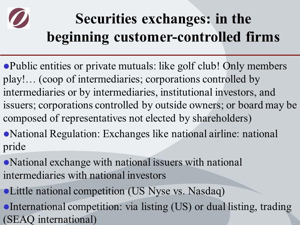 The exchange industry today: Market cap in €bln