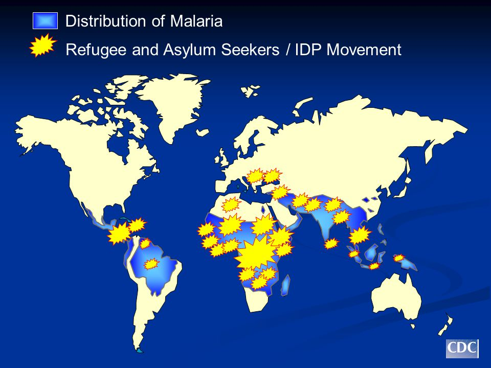 Distribution of Malaria Refugee and Asylum Seekers / IDP Movement