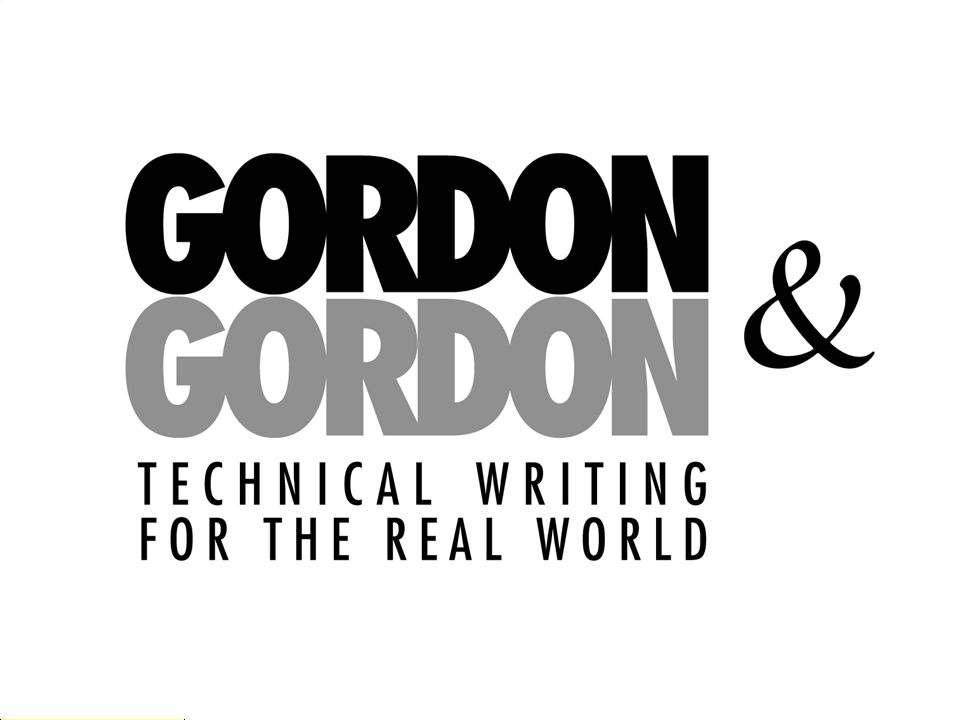 The Ultimate in Single Sourcing Manuel Gordon +1 514 934-3274 manuel@gordonandgordon.com www.gordonandgordon.com
