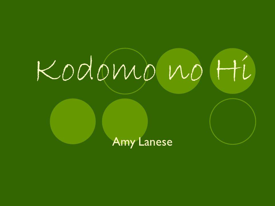 Kodomo no Hi Amy Lanese