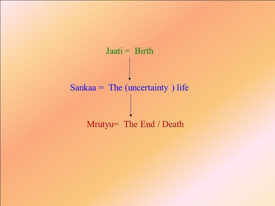 Pita = The fatherMaata = The Mother Janma = The birth p