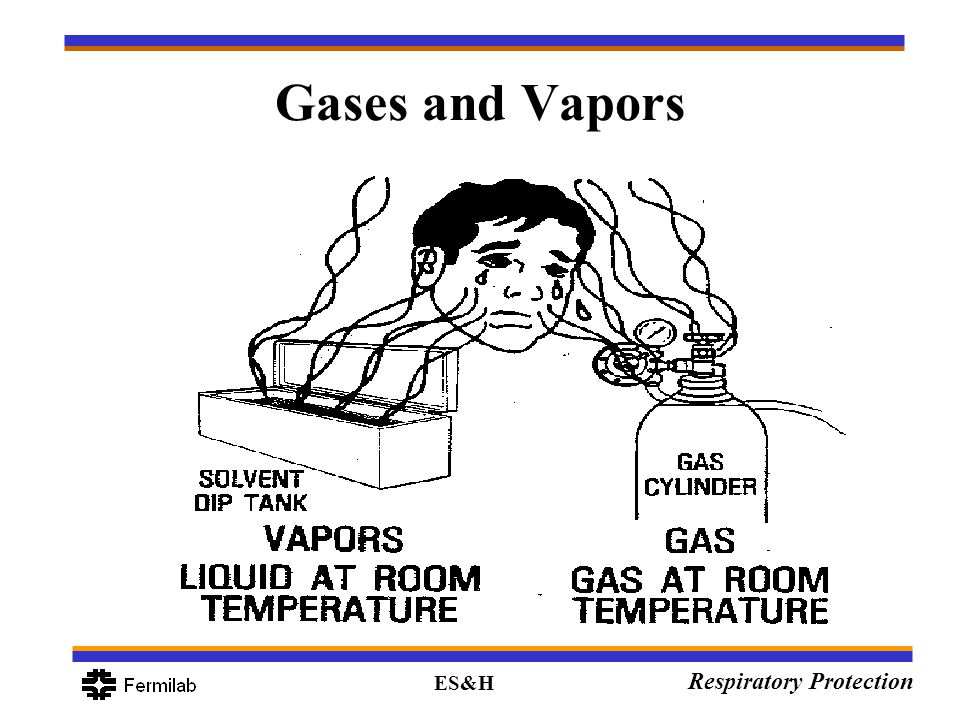 ES&H Respiratory Protection Gases and Vapors