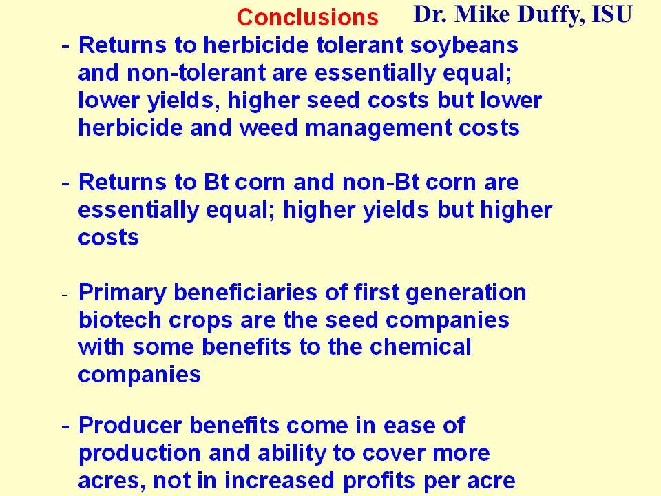 Dr. Mike Duffy, ISU