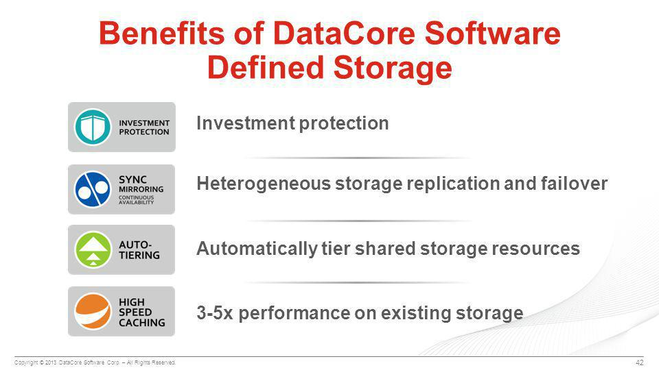 Copyright © 2013 DataCore Software Corp. – All Rights Reserved.