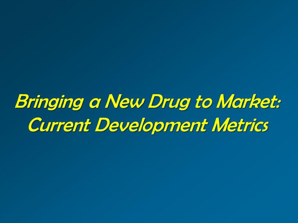 Bringing a New Drug to Market: Current Development Metrics