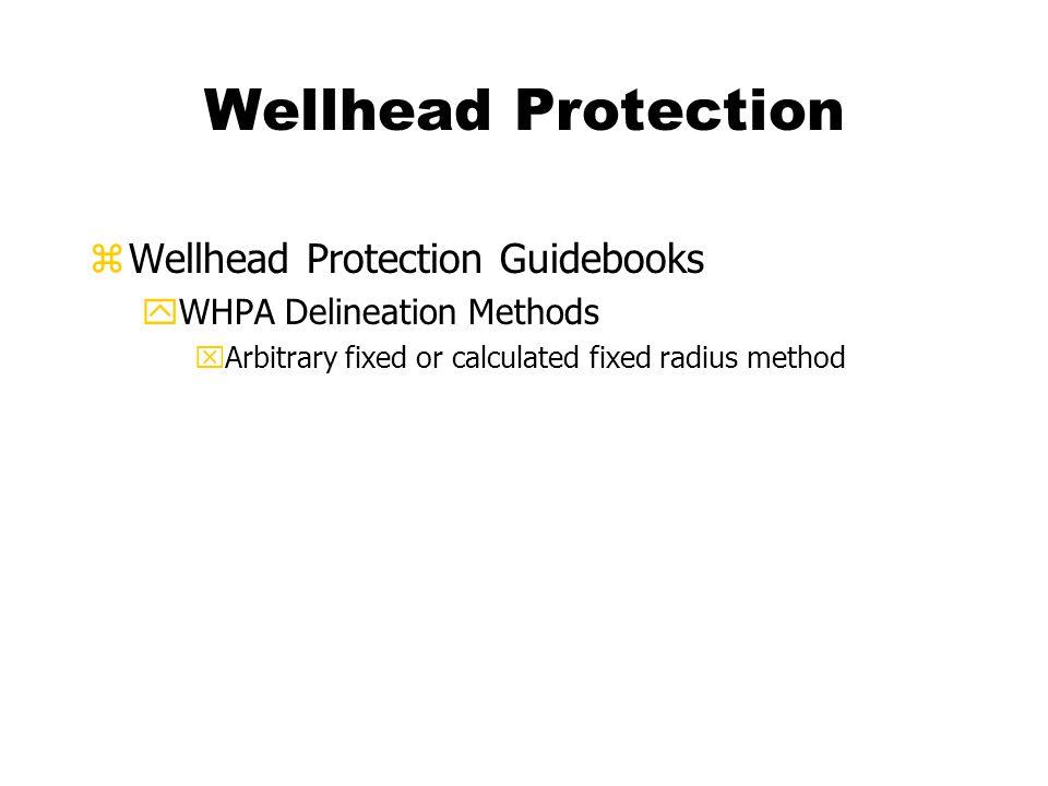 Wellhead Protection