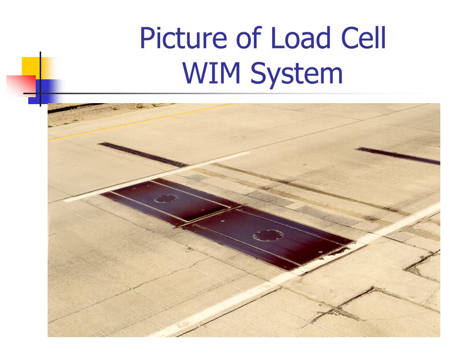 Picture of Load Cell WIM System